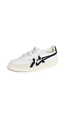 Onitsuka Tiger Unisex GSM Shoes D5K2Y, White/Black, 9 M US