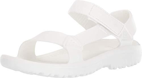 Teva Women's W Hurricane Drift Sport Sandal, White, 8 Medium US