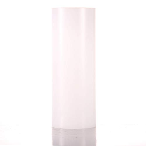 Glass Cylinder Open Both Ends Glass Lamp Shade Replacement Diameter is 5.5 Height is 10 Multiple Specifications Open Ended Hurricane TLLAMP Large Size Hurricane Candle Holder Glass