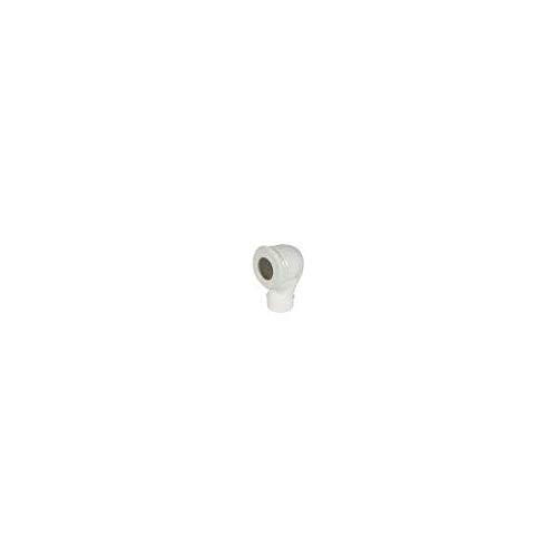 Nicoll - Coude WC 90° Mâle D.100 excentrée - NISPCEXM
