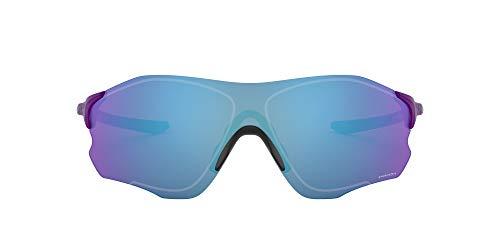 Oakley Men's OO9313 EVZero Path Asian Fit Shield Sunglasses, Multicolor/Prizm Sapphire, 38 mm