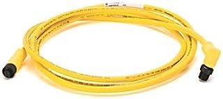 ALLEN BRADLEY 1485R-P3R5-F5 Right Angle Male, Standard 5-PIN, DEVICENET Physical Media, Yellow CPE, 3 M, 3.0, Standard - EPOXY Coated ZINC, Straight Female, Micro, Standard Passive Cable, Thin Media
