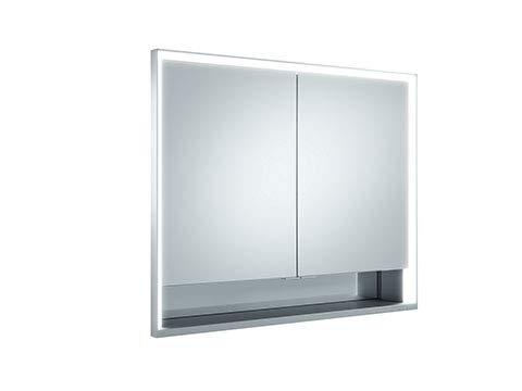 Keuco Royal Lumos Spiegelschrank 14313, 2 Drehtüren, Wandeinbau, 900mm