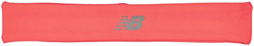 New Balance Men's and Women's Wisp Away Moisture Wicking Headband, Vivid Coral, One Size
