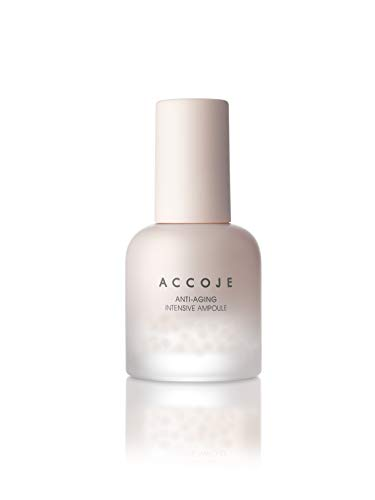 [ACCOJE] Best Korean Anti Aging Intensive Ampoule, Natural Skin Care, Parabens and alcohol free (30ml)