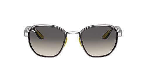 Ray-Ban 0RB3674M Gafas, GUNMETAL, 51 Unisex