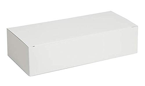Darice Victoria Lynn Cake Box, 24-Pieces per Package, White
