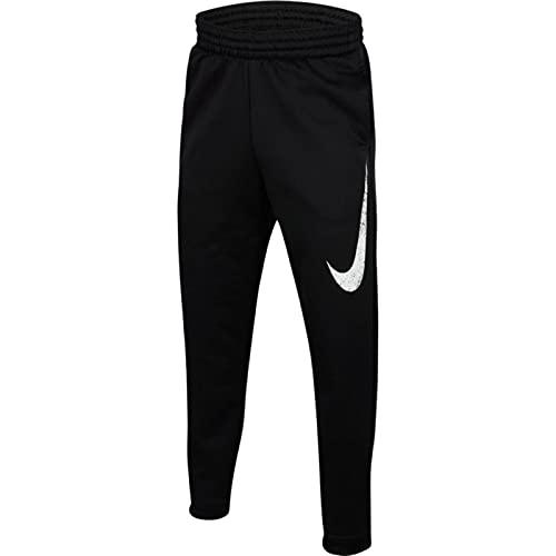 Nike Kids Youth Therma Basketball Pants (Black, LG (14-16 Big Kids)