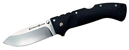 Cold Steel (4005065) Ultimate Hunter Folding Pocket Knife - 30ULH, Black