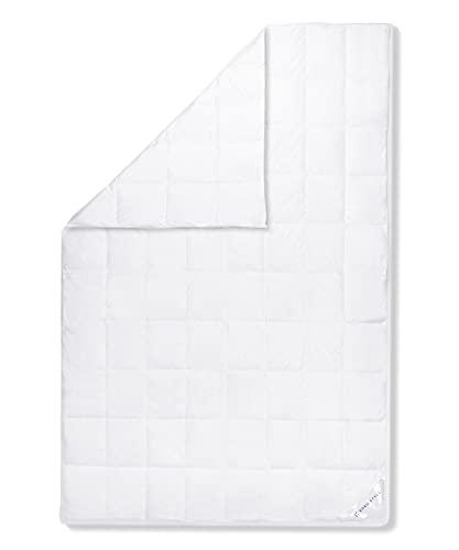 Koru Style Superior Daunen Bettdecke 135x200 cm – 90% Landdaunen / 10% Federn – leichte Sommerdecke 135x200 cm – Daunendecke – Made in Germany – Wärmeklasse 1 (leicht)