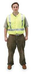 CONDOR 2PDL1 Safety Max 58% OFF Vest 4XL List price Silver Polyester Lime