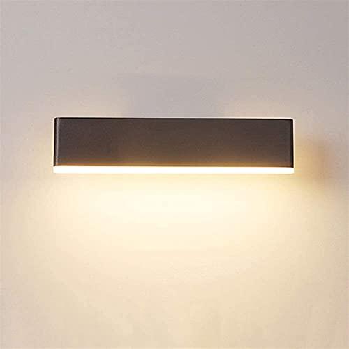 Colgante de luz Lámpara de pared creativa LED minimalista moderna que se puede girar Lámpara de iluminación acrílica de aluminio Lámpara de noche Espejo Faros 3-8 Dormitorio cuadrado Sala de estudio P