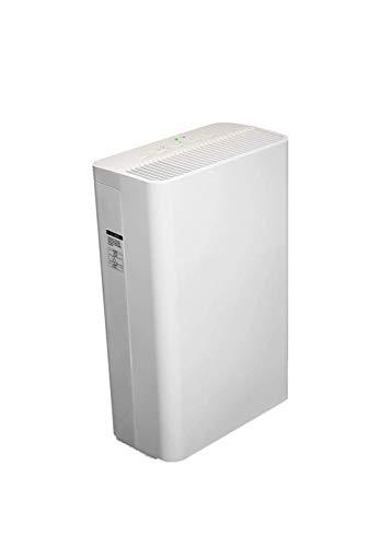 XXRUG Luftreiniger, Monitor echte HEPA-Filter Echtzeit LED Luftqualität (PM2.5) Antiallergikum Ideal für Rauch Pollen Haustiere Staub