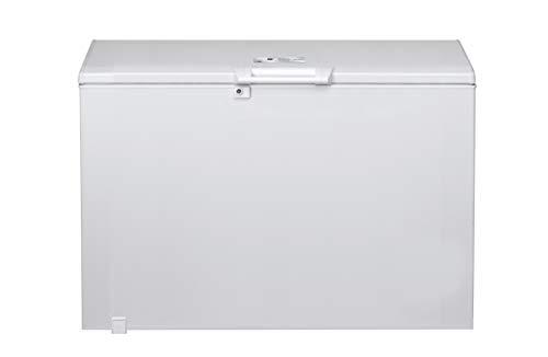 Bauknecht GTE 280 Gefriertruhe / 274 L/Space-Max/Door Balance/Supergefrierfunktion/Innenbeleuchtung/Kindersicherung