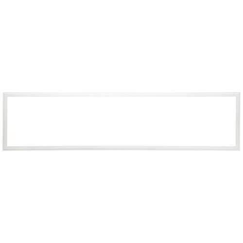 LED Panel Deckenleuchte, 120x30cm, dimmbar, RGB Farbwechsel - per Fernbedienung steuerbar, 40 Watt, 2700-6500 Kelvin, Metall/Kunststoff, Weiß