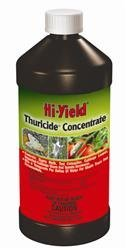 HOME-OUTDOOR Hi-Yield Thuricide Concentrate 16 Oz 1 Pint Insecticide Garden, Lawn, Supply, Maintenance