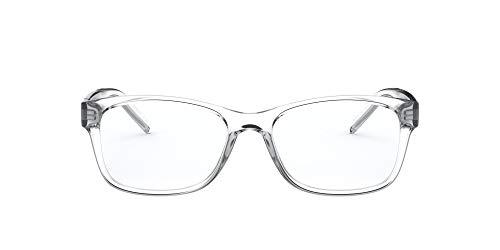 Arnette Momochi Gafas Graduadas para Hombre, Gafas Graduadas, Cristal/Lente Demo Transparente 53 mm