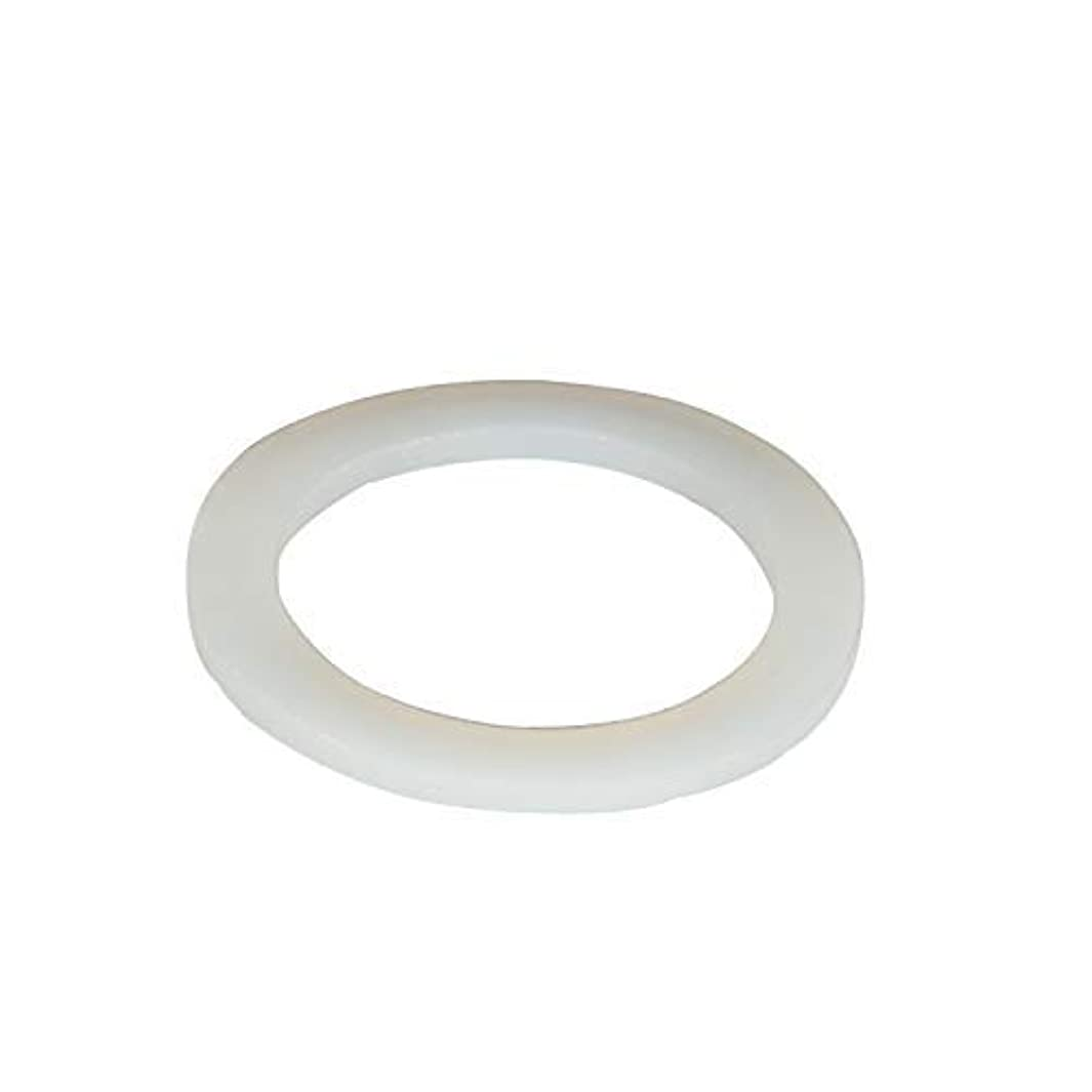 Silicone Gasket, Flat Washers, Reusable Rubber Seal Washers, 20pcs Sealing Silicone Rings Gasket 15mm x 8mm x 3mm (OD x ID x Wall Thickness) for Pipe Tube Hose - (Pack of 20).