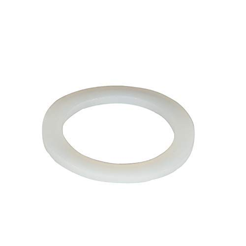 Silicone Gasket, Flat Washers, Reusable Rubber Seal Washers, 20pcs Sealing Silicone Rings Gasket 31mm x 20mm x 3mm (OD x ID x Wall Thickness) for Pipe Tube Hose - (Pack of 20).