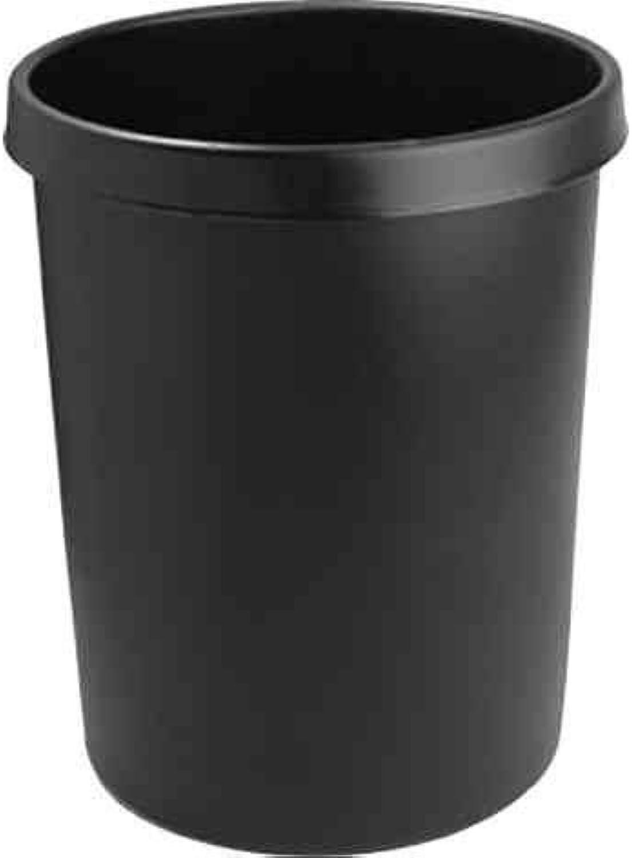 Helit Kunststoff-Papierkorb - Inhalt 45 l, Höhe 480 mm, VE 2 Stk - lichtgrau, VE 2 Stk - Abfallkorb Kunststoffabfallsammler Papiereimer Papierkorb B00XWJP29A | Online-Shop