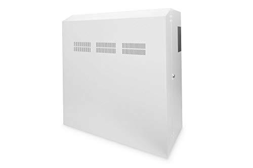 DIGITUS Netzwerk-Schrank 19 zoll 6 HE - Horizontale Aufputz-Wandmontage - Server-Schrank - Aufbau - Traglast 100 kg