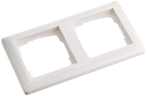 Gira Rahmen 021203 2fach Standard 55 reinweiss
