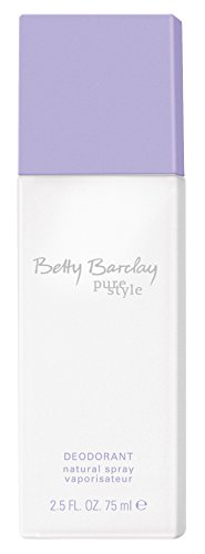 Betty Barclay Pure Style femme/woman, Deodorant, Vaporisateur/Spray, 1er Pack (1 x 75 g)