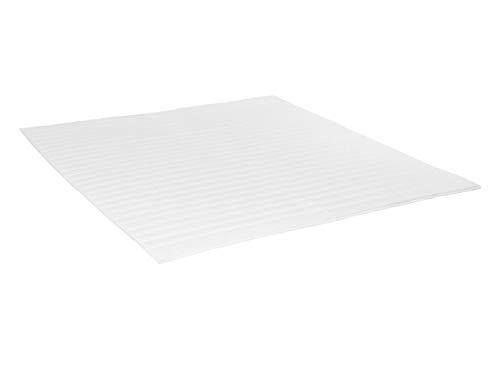 Mirjan24 Topper Mandula für Boxspringbett, Betten oder Schlafsofa, Matratzentopper, Gesteppter Topper mit 4 Gummibändern (160 x 200 cm)