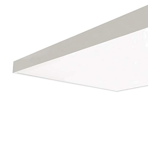 LEDKIA LIGHTING Kit de Superficie Paneles Slim 120x60cm BlancoBlanco
