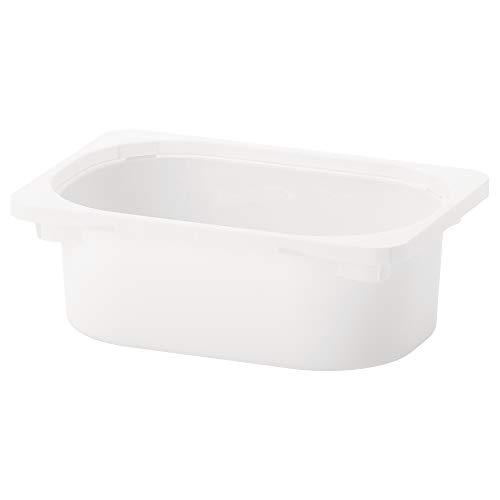 TROFAST caja de almacenamiento 30x10 cm blanco