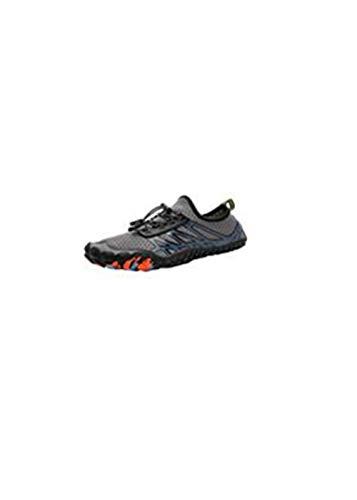 Whyeasy Bluestercool Chaussures d'eau Unisexes à Couple Séchage Rapide Printemps Été Piscine Plage Nager Plongée Shoes Chaussures Aquatiques(Gris41)