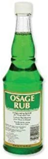 Clubman Osage Rub Invigorating Splash for Head and Face Facial Astringents ( 14 fl.oz / 414 mL) by Clubman
