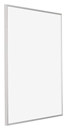 Your Decoration - 60x70 cm - Kunststof Fotolijsten met Acrylglas - Uitstekende Kwaliteit - Zilver - Anti-reflectie - Fotokader - Evry