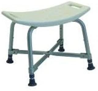MediChoice Shower Chair, Adjustable 14-17 Inch, Aluminum, Bariatric - 600 lbs Capacity, 2867BTH250 (1 Each)