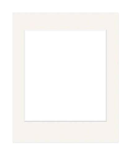 Deha Passepartout 50x70 cm für Bilder im Format 40x50 cm, Elfenbein