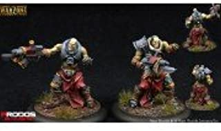 Warzone Resurrection Mutant Chronicles Dark Legion Necromutants Squad Commander