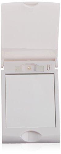 Italian Design Idmirrcomp Miroir compact avec lumière LED intégrée