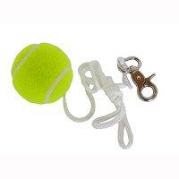 HUDORA 1 Ball mit Schnur und Karabinerhaken