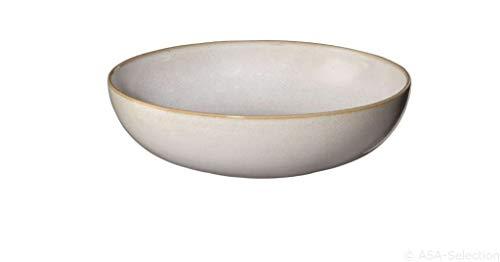 ASA Pastateller, Sand D. 21 cm, H. 5,5 cm 6 Stück