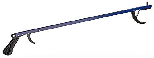 Sammons Preston Reacher, Blue, 32 Inch, Grabber Reacher Tool, Lightweight Trash Picker Grabber & Garden Nabber, Handy Aluminum Picker Up Tool & Reaching Claw, Portable Reaching Assist & Dressing Tool