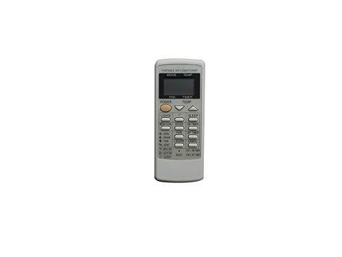 IOUVS Telecomando Fit for Sharp AY-A12CJ CV-P10MX CV-P12LX CRMC-A729JBEZ CV-10mH CV-P10PC CRMC-A589JBEZ Portatile del condizionatore d'Aria
