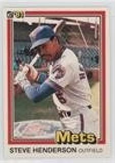 Steve Henderson (Baseball Card) 1981 Donruss - [Base] #157