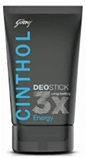 Cinthol Deo Stick Energy (40g) - Pack of 3