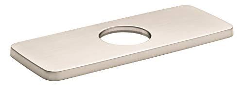 Hansgrohe 04565820 - Placa base para grifo de bañera (15,2 cm, níquel cepillado)