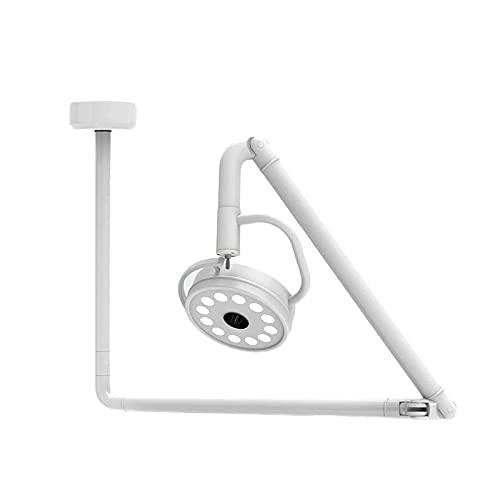 ANYURAN 36W LED chirurgische medizinische Untersuchungsleuchte Shadowless Deckenmontagelampe, zahnärztliche Lupe, chirurgische HNO-Heilkunde medizinische Schönheitsuntersuchungslampe Beauty