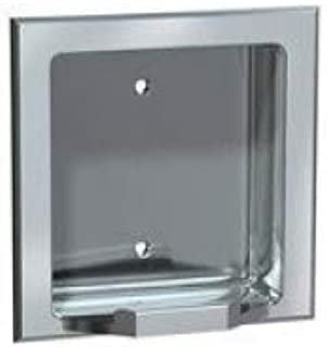 Recessed Soap Dish Finish: Satin, Wall Type: Wet Wall