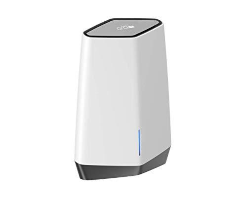 Netgear OrbiPro SXS80 WiFi6 Tri-Band Mesh-Zusatzsatellit (AX6000 Repeater für Zuhause & Unternehmen, bis zu 6GBit/s Geschwindigkeit, weitere 200m² Abdeckung, erfordert OrbiPro WiFi6 Router)