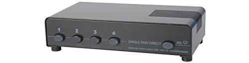 AV: Link 128.425 140 W 4 Way geschützt Lautsprecher Selector