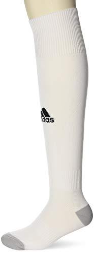 adidas Milano 16 Sock - Medias para hombre, multicolor ( BLANCO / BLANCO), talla 37-39 EU, 1 par