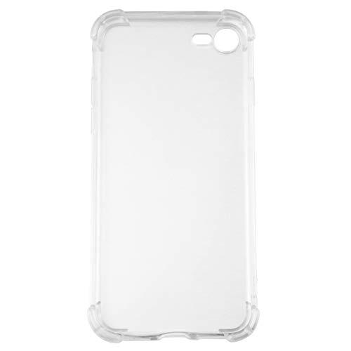 PartyKindom Funda transparente del teléfono móvil anti golpea la cubierta suave de la cáscara del teléfono TPU compatible para iPhone7/8 para el regalo